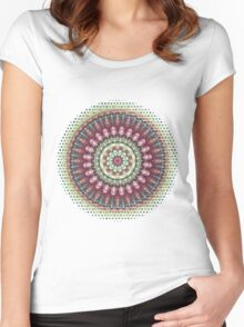 Mandala 1 Women's Fitted Scoop T-Shirt