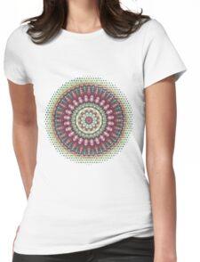 Mandala 1 Womens Fitted T-Shirt