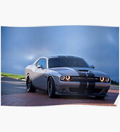 Dodge Challenger RT 'Modern Muscle' 3a Poster