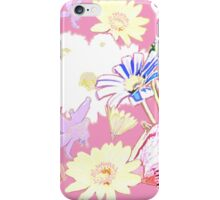 flower comp 1 iPhone Case/Skin
