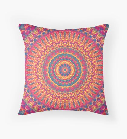 Mandala 8  Throw Pillow