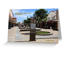 The Levee Shopping Precinct Maitland Greeting Card
