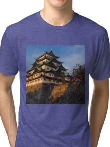 NAGOYA CASTLE Tri-blend T-Shirt