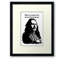 Dracula Framed Print