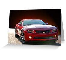 Chevrolet Camaro 'Modern Muscle' 2a Greeting Card