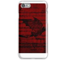 Toothless in flight  iPhone Case/Skin