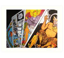 The Tarot Art Print