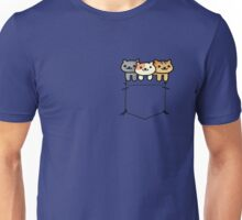 Neko Atsume Pocketed Unisex T-Shirt