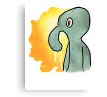 The Old Bold and Brash. Canvas Print