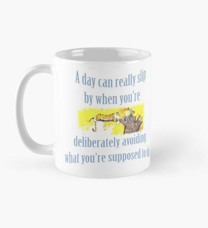 Procrastination according to Calvin & Hobbes Mug