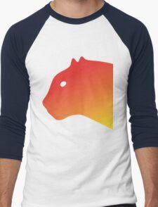 Red Panthero Men's Baseball ¾ T-Shirt