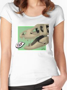 RawR. Women's Fitted Scoop T-Shirt