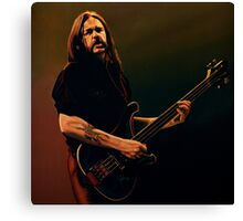 Lemmy Kilmister Painting Canvas Print