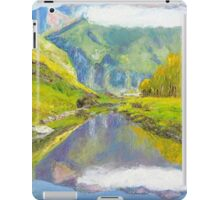 The Long White Cloud, Mount Aspiring, Fiordland, NZ iPad Case/Skin
