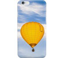 Yellow Balloon Sunrise Flight - Martinborough, NZ iPhone Case/Skin