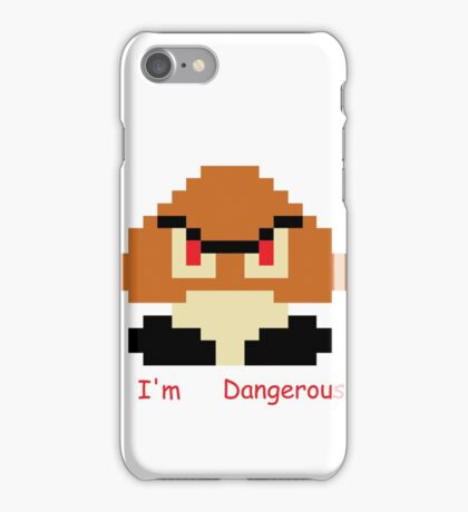"""I'm Dangerous"" Gooma Pixel Art iPhone Case/Skin"