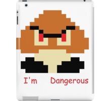 """""""I'm Dangerous"""" Gooma Pixel Art iPad Case/Skin"""