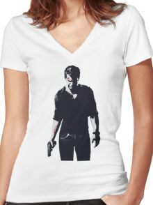 Uncharted 4: A Thief's End Women's Fitted V-Neck T-Shirt