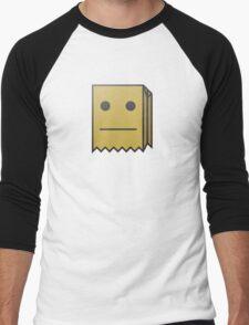 Mr Fijiwiji | Logo | White Background | High Quality Men's Baseball ¾ T-Shirt