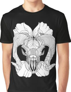 Rams Horns Graphic T-Shirt
