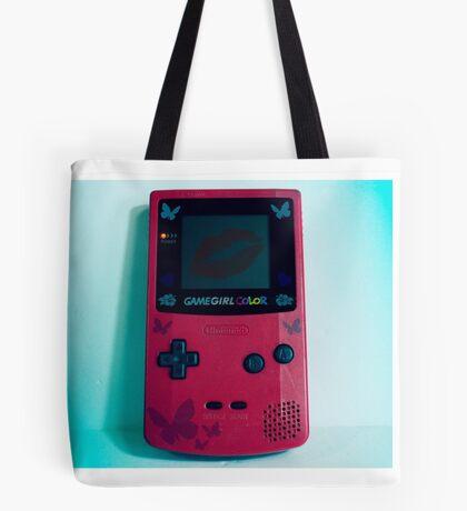 Game Girl Color Tote Bag
