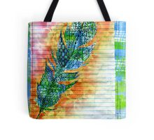 The Secret Feather Tote Bag