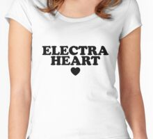 Electra Heart Women's Fitted Scoop T-Shirt