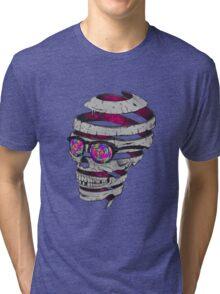 Trippy Skull Tri-blend T-Shirt