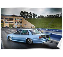 Michael Ryan's EB Falcon Drag Car Poster