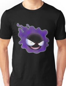 Ghost Types - Gastly - Purple Pattern Unisex T-Shirt