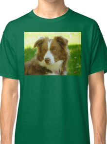 Agility & Intensity Are My Middle Names!! - Border Collie - NZ Classic T-Shirt