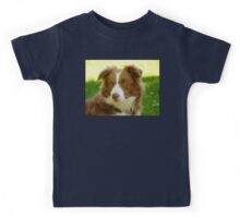 Agility & Intensity Are My Middle Names!! - Border Collie - NZ Kids Tee