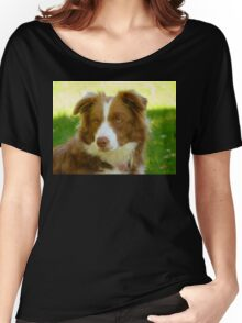 Agility & Intensity Are My Middle Names!! - Border Collie - NZ Women's Relaxed Fit T-Shirt