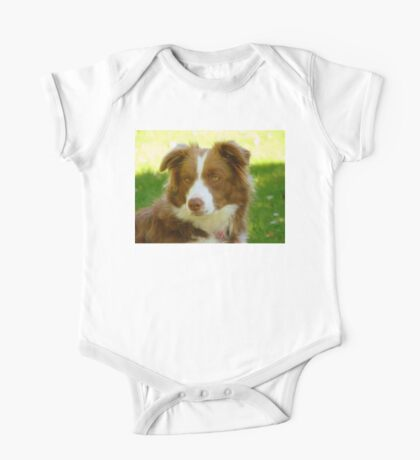 Agility & Intensity Are My Middle Names!! - Border Collie - NZ One Piece - Short Sleeve
