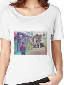 Cowboy in Chinatown Women's Relaxed Fit T-Shirt