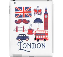 London Icons iPad Case/Skin