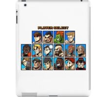 SF2 iPad Case/Skin