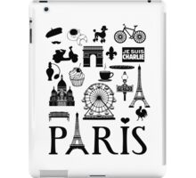 Paris icons iPad Case/Skin
