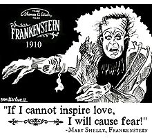 Frankenstein 1910 Photographic Print