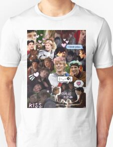 Merthur Collage (BBC Merlin) Unisex T-Shirt