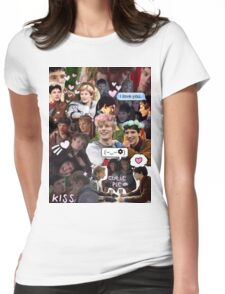 Merthur Collage (BBC Merlin) Womens Fitted T-Shirt