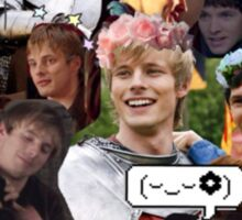 Merthur Collage (BBC Merlin) Sticker