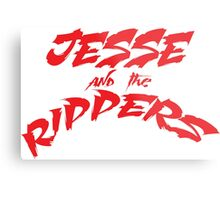 Jesse and the Rippers red Metal Print