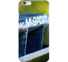 M SPORT iPhone Case/Skin
