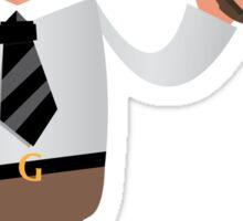 White Collar Guerrilla - Pencilzooka Sticker