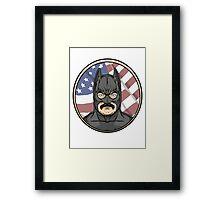 BatOfferman Framed Print