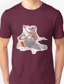 Riding Into Battle Unisex T-Shirt