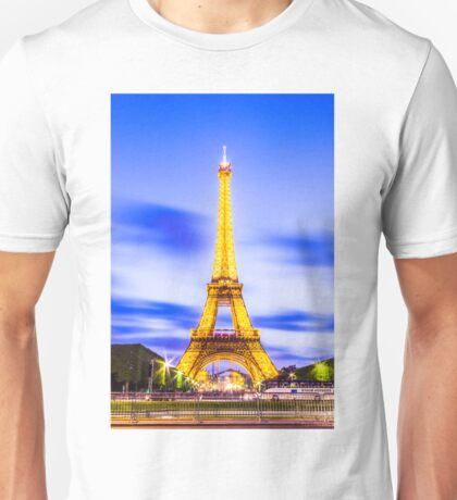 Eiffel Tower 7 Unisex T-Shirt