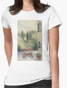 Red Umbrella - Tuscany Womens Fitted T-Shirt