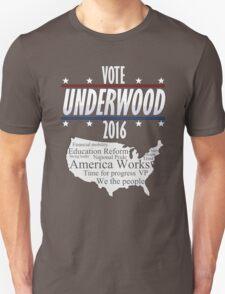 Vote Frank Underwood 2016 T-Shirt